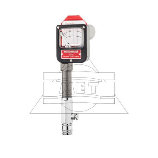 Kompressziómérő Dízel motorokhoz, 10-40 bar (tartozékok nélkül)